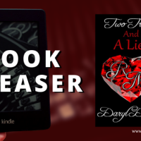 #bookteaser, #newrelease Two Truths and a Lie by Daryl Devore